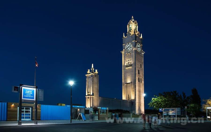 广州led灯光工程-国外钟楼的灯光改造