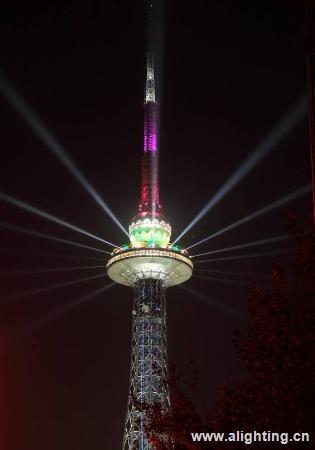 哈尔滨龙塔景观照明工程