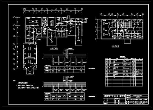 盘锦泵房照明系统及平面布置图纸