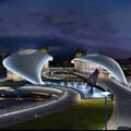 海南华润石梅湾国际游艇会建筑照明设计方案
