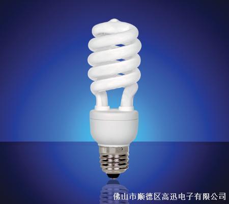 电子节能灯(镙旋灯管)-佛山市顺德区高迅电子有限