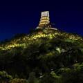 安吉凤凰山山体景观照明手法的探索(二)