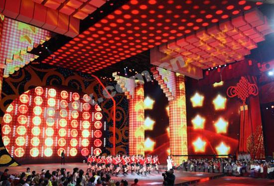 京剧《萧绰·韬略札记》舞台灯光设计图片