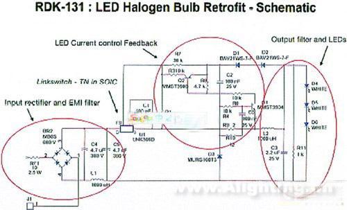 图1 转换器与emi滤波器电路   设计转换器和emi滤波器时只需要25个