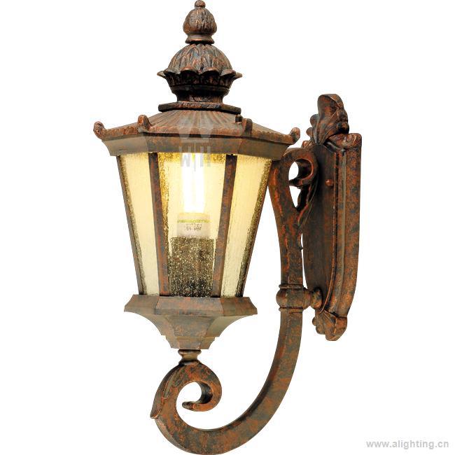 【亨莱特】中式凤梨户外中国仿古庭院壁灯