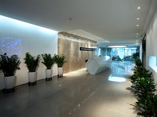 深圳中航地产写字楼办公室照明设计