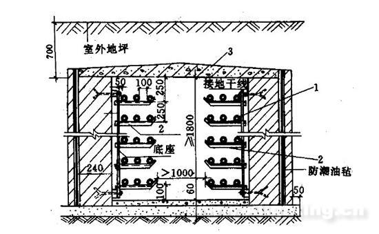 发电厂电气主接线图的母线画法