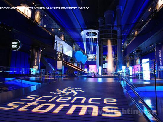 芝加哥科学与工业博物馆照明设计