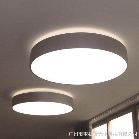 圆形吸顶式面板灯