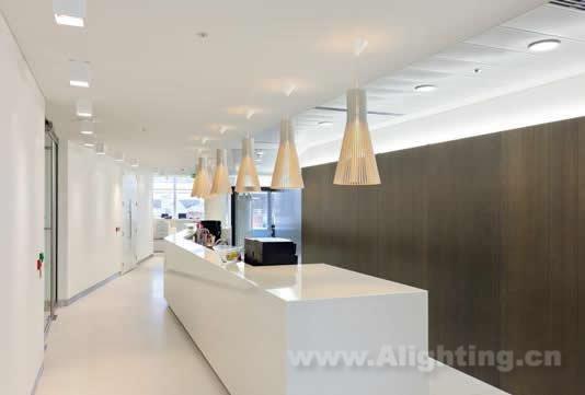 美国威嘉律师事务所伦敦分所室内照明设计(组图)