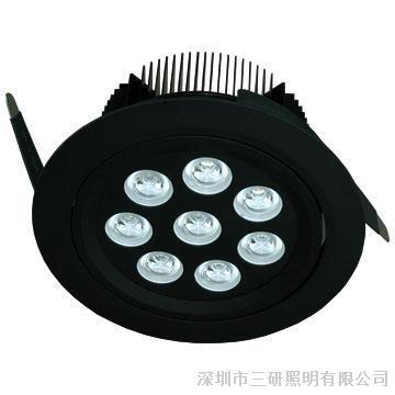 阿拉丁网上展厅 产品 灯具 室内灯具 筒灯   24w  led downlight 筒灯