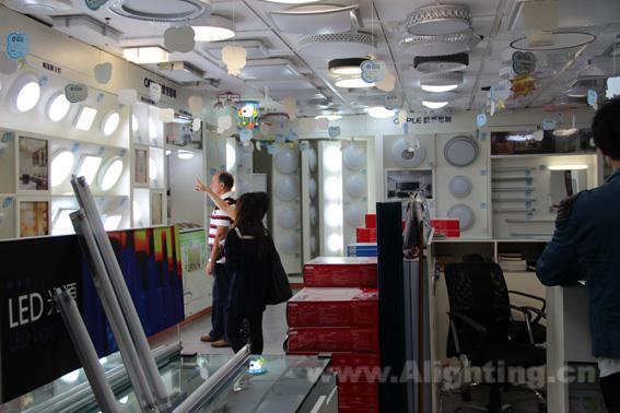 欧普的灯最近销售很火 -阿拉丁照明渠道网(上海