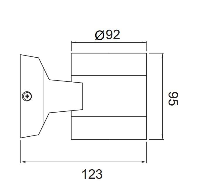 充电式壁灯电路图