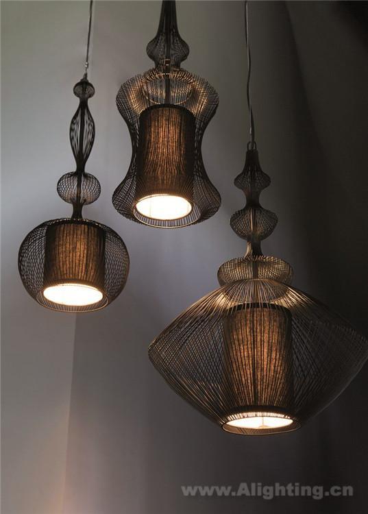 灯具案例:fil de fer 系列灯具设计