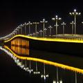 塞上江南·银川艾伊河景观照明工程详解