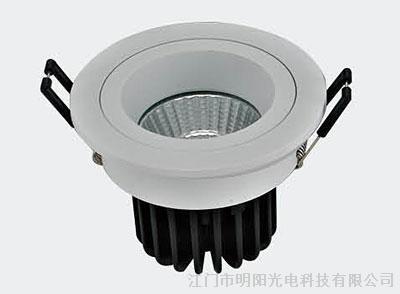 阿拉丁网上展厅 产品 灯具 室内灯具 筒灯  明阳光电的产品已形成完整