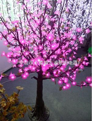 高仿真粉色樱花树