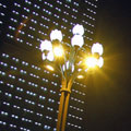 南宁五象广场照明灯型设计之芙蓉灯