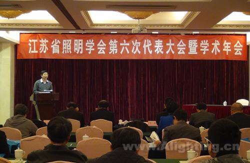 汉德森董事长当选为江苏照明学会第六届副理事长