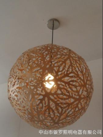 珊瑚吊灯-创意木质现代后现代风格吊灯