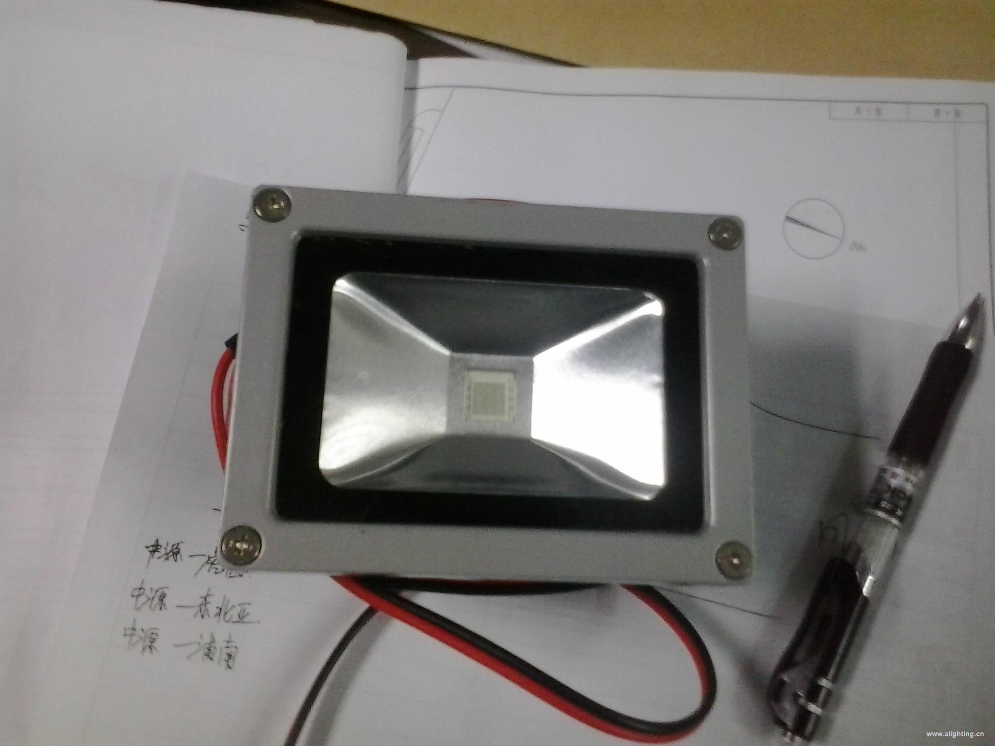mos管三色灯驱动电路