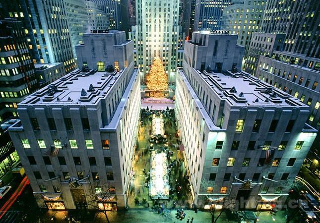 美国纽约曼哈顿标志性建筑