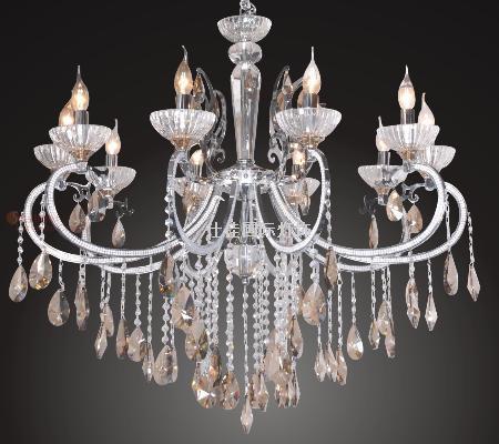 欧式蜡烛水晶灯-仕佳国际灯饰
