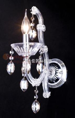 欧式水晶壁灯-仕佳国际灯饰