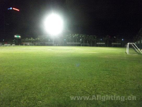 占地面积大于一个标准足球场,可以进行专业的体育比赛场地照明模拟
