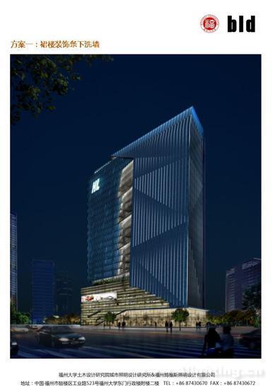 福州恒力玻璃中心照明详解--阿拉丁金融奖绘制cad门神灯怎么平面图申报、图片