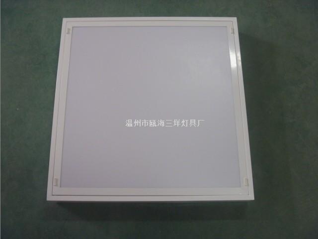 工程商场带扩散罩的格栅灯盘SY-3006型 3x18w