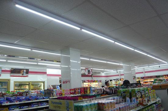 (配图:泰国7-11便利店)-昭信LED 享受光的新时代生活