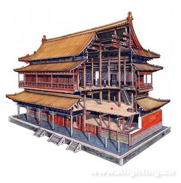 中國古代建筑屋頂何時開始采用瓦?之前是什么?