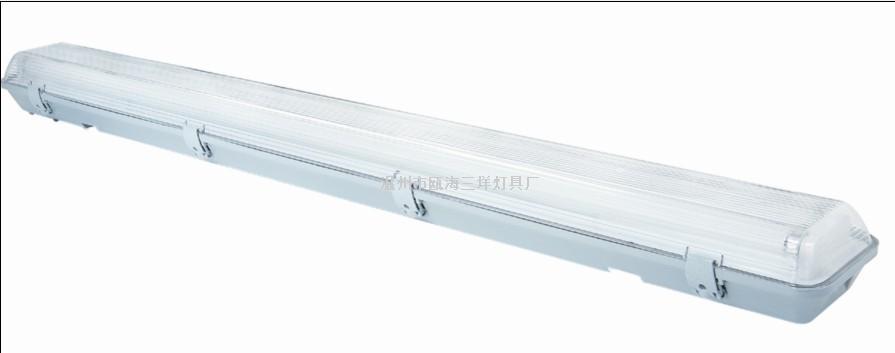 工程商场防水防尘防腐灯架 SY-D三防灯 2x40w