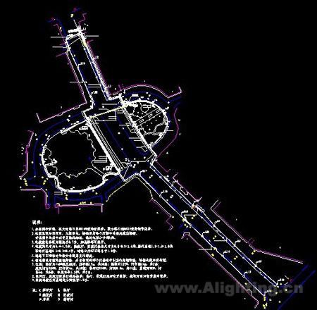 某城市广场照明设计图纸