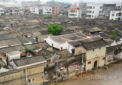 广东潮汕地区古建筑古朴典雅