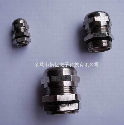 金属电缆固定头,电缆防水接头,公制牙/PG牙葛兰头,铜镀镍防水接头