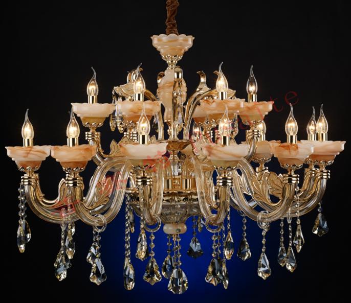 吊灯(灯臂)水晶,玉石-中山市横栏镇普赛特灯饰厂