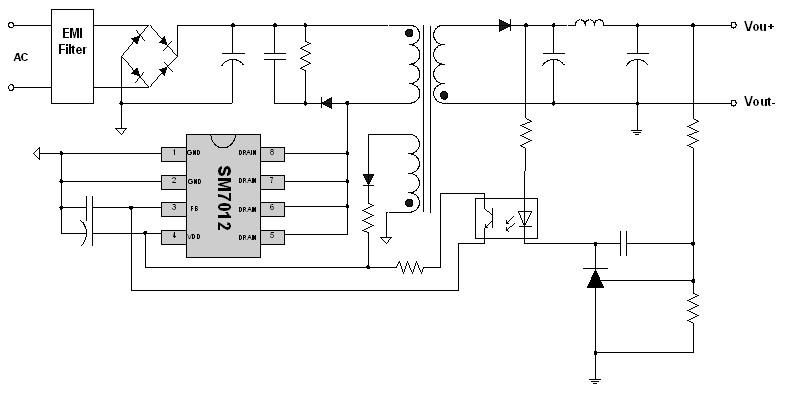 典型电磁炉buck电路
