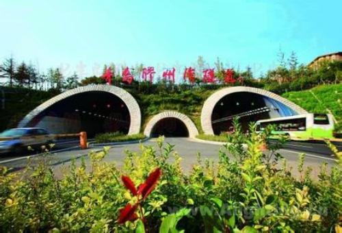 【穿越时空】青岛胶州湾海底隧道led照明