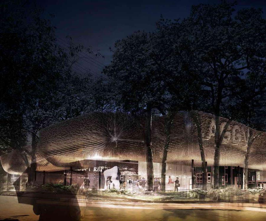 未来建筑设计——大维多利亚艺术画廊