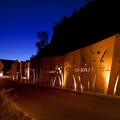 加拿大魁北克省Cap-Rouge记忆墙灯光鉴赏