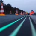 黑夜的指路者——世界首条会发光的公路通车