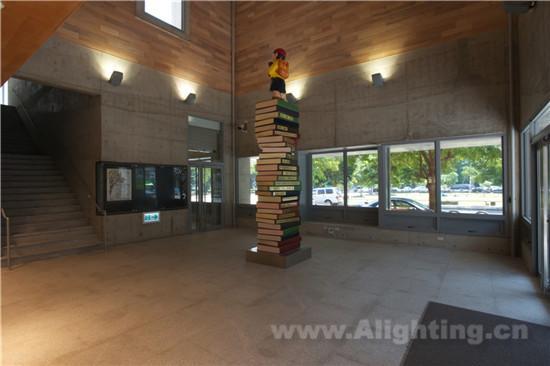 【阅读梦想——台南市裕文图书馆室内照明详解】案例
