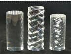 供应压(亚)克力棒 PMMA棒 有机玻璃彩色棒 透明棒 气泡