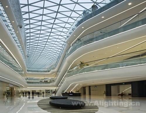 武汉东湖万达广场室内设计(包含灯光)赏析