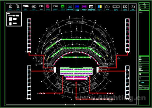 舞台灯光照明设计图纸