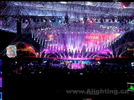 年演唱会舞台灯光设计