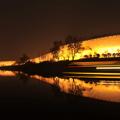 南京明城墙夜景赏析
