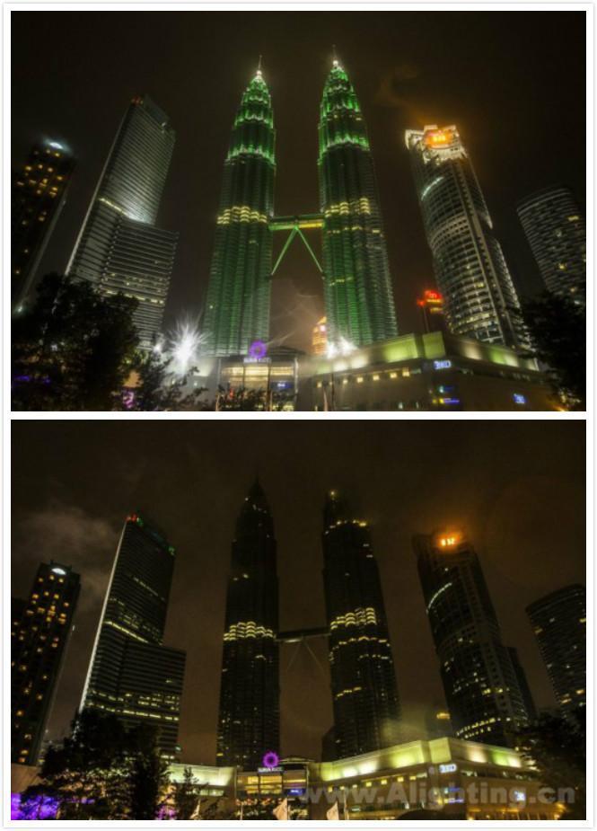 马来西亚吉隆坡国油双子塔